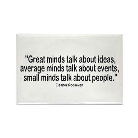 Great Minds Rectangle Magnet (100 pack)