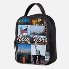 New York Pro Photo Montage-Stun Neoprene Lunch Bag