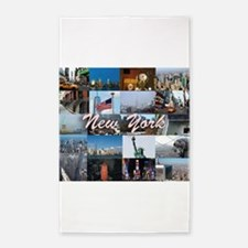 New York Pro Photo Montage-Stunning! Area Rug