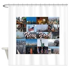 New York Pro Photo Montage-Stunning Shower Curtain
