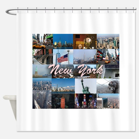 New York Pro Photo Montage-Stunning Shower Curtain