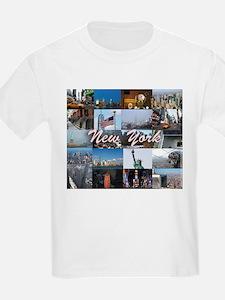 New York Pro Photo Montage-Stun T-Shirt