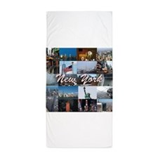 The New York City Photo Gallery Beach Towel