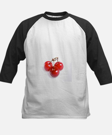 red white cherries photo Baseball Jersey
