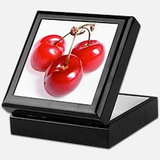 red white cherries photo Keepsake Box