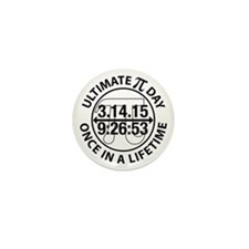 Ultimate Pi Day 2015 Mini Button (10 pack)