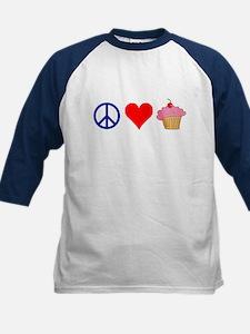 Peace Love Cupcakes Tee