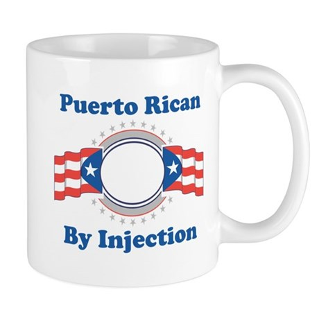 Puerto Rican By Injection Mug
