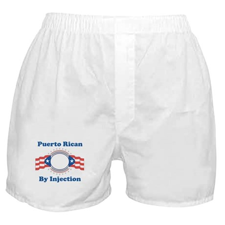 Puerto Rican By Injection Boxer Shorts