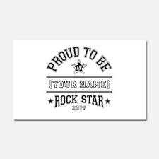 Family Rock Star Car Magnet 20 x 12