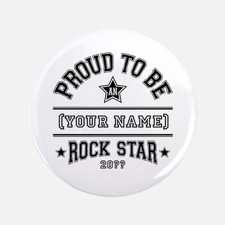 "Family Rock Star 3.5"" Button"