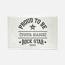 Family Rock Star Rectangle Magnet
