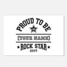 Family Rock Star Postcards (Package of 8)