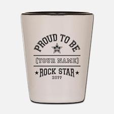 Family Rock Star Shot Glass
