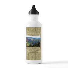Hawaiian landscape Water Bottle