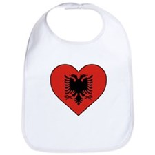 Albania Heart Bib