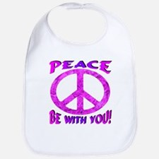 Peace Be With You! Bib