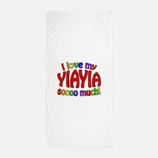 I love my YIAYIA soooo much! Beach Towel