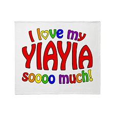 I love my YIAYIA soooo much! Throw Blanket