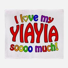 I love my YIAYIA soooo much! Throw Blanket
