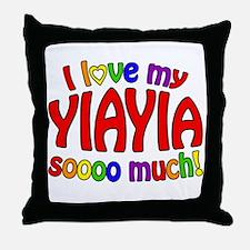 I love my YIAYIA soooo much! Throw Pillow