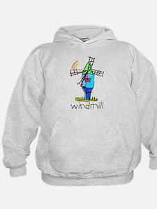 Kid Art Windmill Hoodie