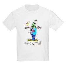 Kid Art Windmill T-Shirt