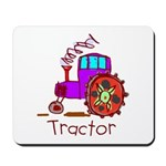 Kid Art Tractor Mousepad