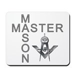Master Masons Square and Compasses Mousepad