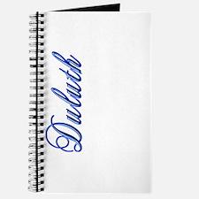 Elegant Script Duluth Journal