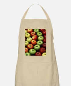 apples red green granny smith Apron