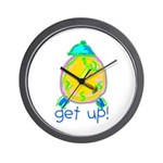 Kid Art Alarm Clock Wall Clock