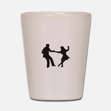 DANCING COUPLE Shot Glass