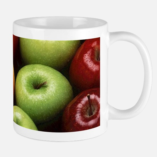 apples red green granny smith Mugs