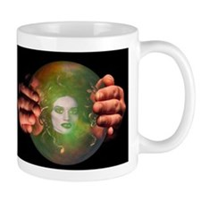Medusa in Crystal Ball Mug