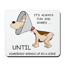 DOG CONE Mousepad
