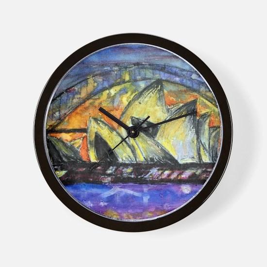 Unique Lyndsey Wall Clock
