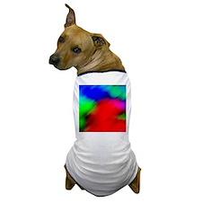 psychedelic rainbow art Dog T-Shirt