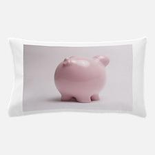 funny piggy bank butt photo Pillow Case