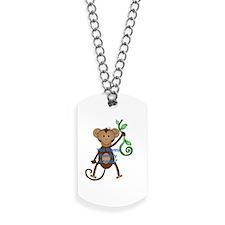 you wanna monkey around Dog Tags