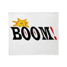 BOOM! Throw Blanket