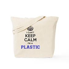Cute I am plastic Tote Bag