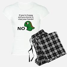 T-Rex isnt happy Pajamas