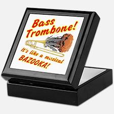 Bass Trombone Musical Bazooka Keepsake Box