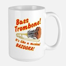 Bass Trombone Musical Bazooka Mugs