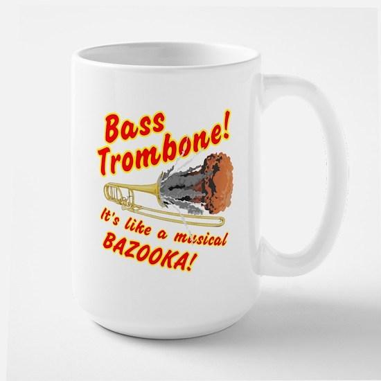 Bass Trombone Musical Bazooka Mugs