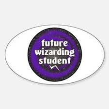 Future Wiz Student Oval Decal