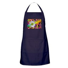 happy birthday daisy plur Apron (dark)