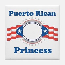 Puerto Rican Princess Tile Coaster