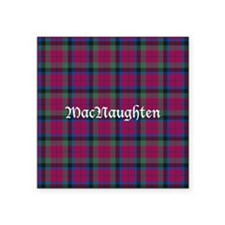 "Tartan - MacNaughten Square Sticker 3"" x 3"""
